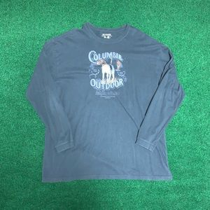 Mens Columbia OutDoor Long Sleeve 3X